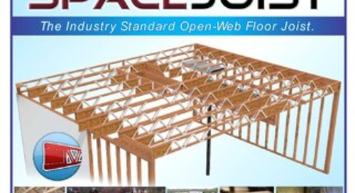 SpaceJoist Open Web Floor Joist Guide