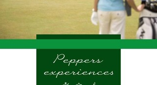 Peppers The Sands Resort Experiences Brochure
