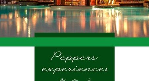 Peppers Beach Club & Spa Experiences Brochure
