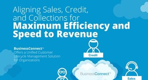 eBook: Aligning Sales, Credit, and Collections for Maximum Efficiency and Speed to Revenue