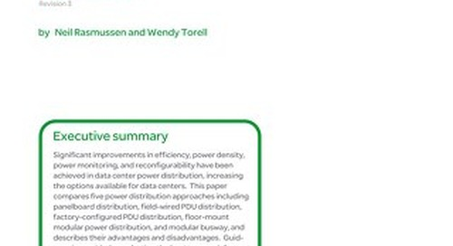 WP 129 - Comparing Data Center Power Distribution Architectures