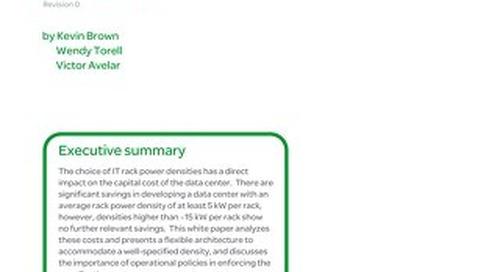 WP 156 - Choosing the Optimal Data Center Power Density