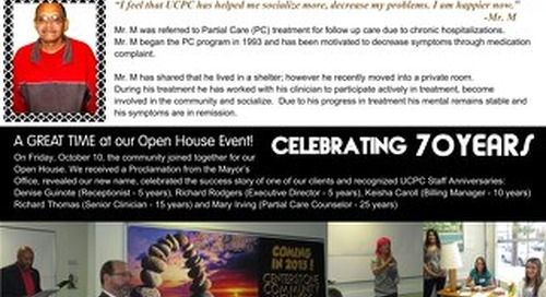 UCPC Fall 2014 News Brief