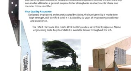 HA2.5 Hurricane Clip