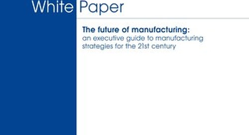 Future of Manufacturing