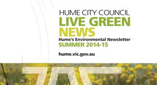 Live Green News - Summer 2014-15