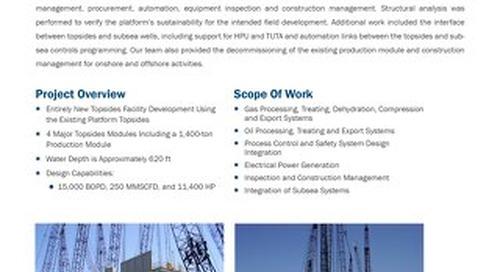 ENI Longhorn/Appaloosa Subsea Tiebacks - Project Profile