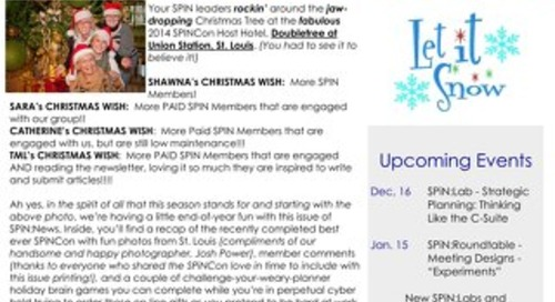 December 2014 SPiN News