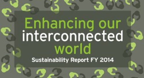 Sustainability Report FY 2014