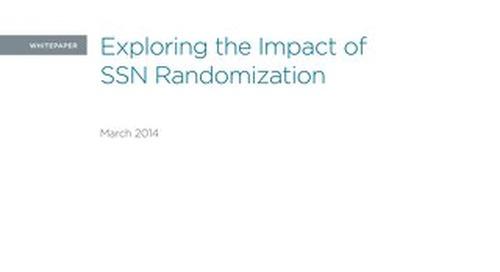Exploring the Impact of SSN Randomization