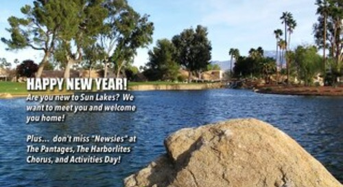 Sun Lakes Lifestyles January 2015