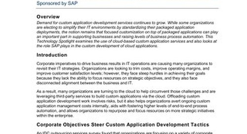 Custom Applications Powered and Enabled By Cloud Computing