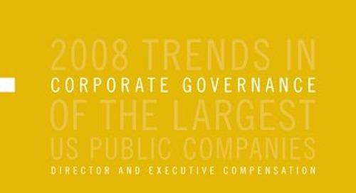 2008 Director & Executive Compensation Survey
