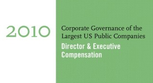 2010 Director & Executive Compensation Survey