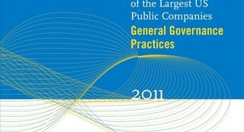 2011 General Governance Survey