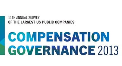 2013 Compensation Governance Survey