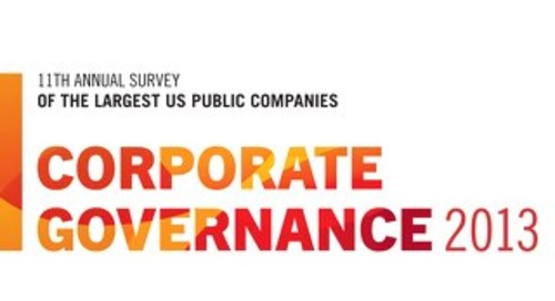 2013 Corporate Governance Survey