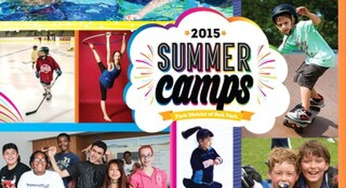 Park District of Oak Park Summer Camps 2015
