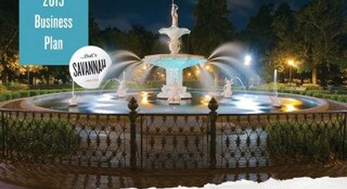 2015 Visit Savannah Business Plan