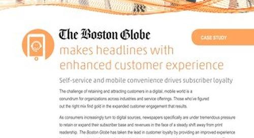 Case Study - Boston Globe IVR and Mobile