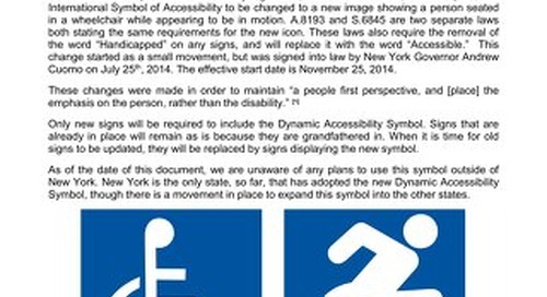 New York Dynamic Accessibility Signs