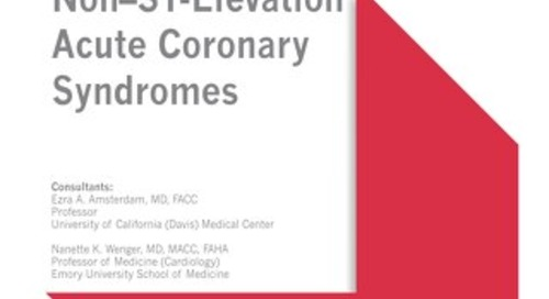 Non–ST-Elevation Acute Coronary Syndromes