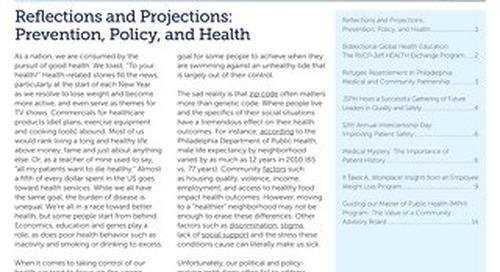 Pop Health Matters_Winter2015_Vol.28_Issue 1