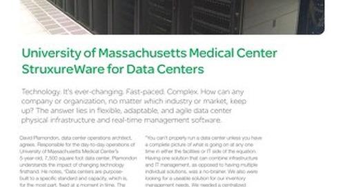[Case Study] University of Massachusetts Medical Center StruxureWare for Data Centers (DCIM)