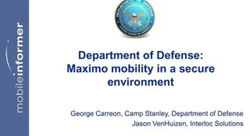 Camp Stanley Federal Maximo User Group