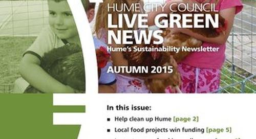 Live Green News - Autumn 2015