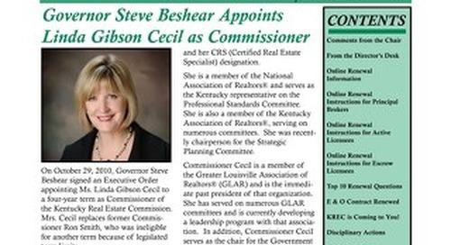 2011 KREC Newsletter 1