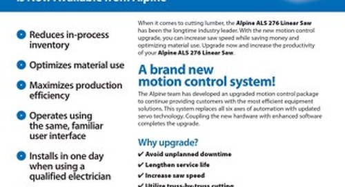 ALS 276 Motion Control Upgrade