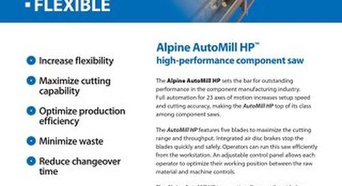 AutoMillHP Component Saw