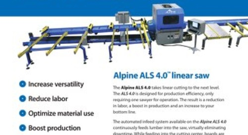 ALS 4.0-Linear Saw
