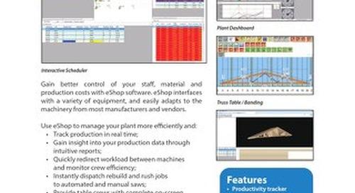 eShop Real-Time Truss Plant Management