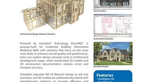 VisionREZ Residential BIM Solution