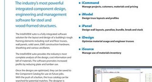 IntelliVIEW Comprehensive Software Suite