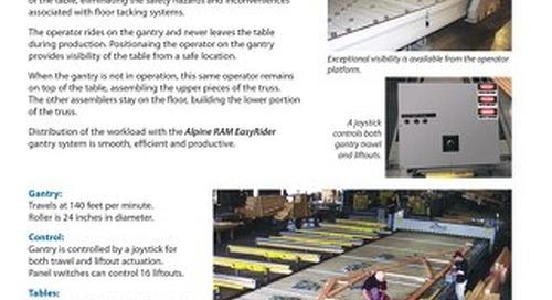 Truss Assembly Equipment