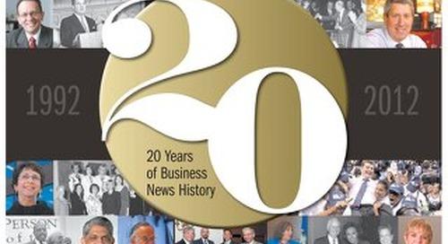Hartford Business Journal 20th Anniversary