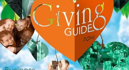Giving Guide 2014