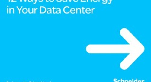 12 Ways to Save Energy in Your Data Center