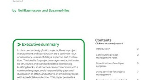 WP 141 - Data Center Projects: Project Management