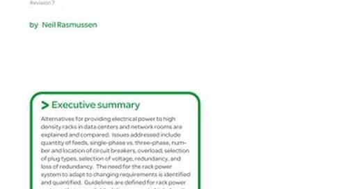 WP 29 - Rack Powering Options for High Density