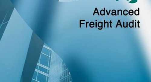 Download our Advanced Freight Audit eBook