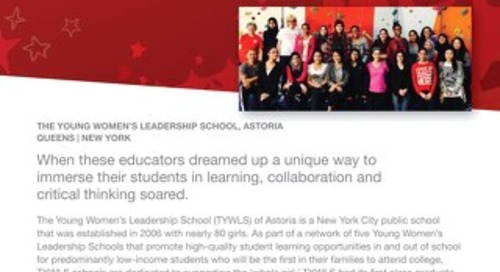 2015 Follett Challenge High School Category Semifinalist: The Young Women's Leadership School Case Study