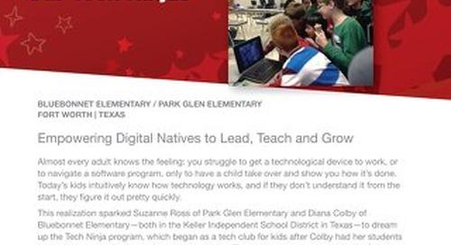 2015 Follett Challenge Elementary School Category Semifinalist: Bluebonnett / Park Glen Elementary Schools Case Study