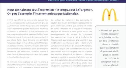 Moneris McDonalds Case Study