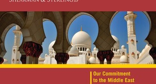 Middle East Brochure