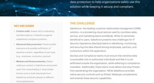 Netskope for Salesforce
