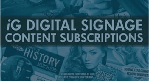 iG Content Subscriptions